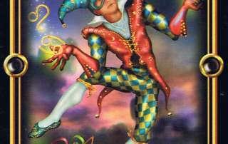 Gilded Tarot The Fool 0